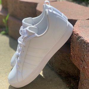 Adidas Grand Court White Sneakers Sz 10